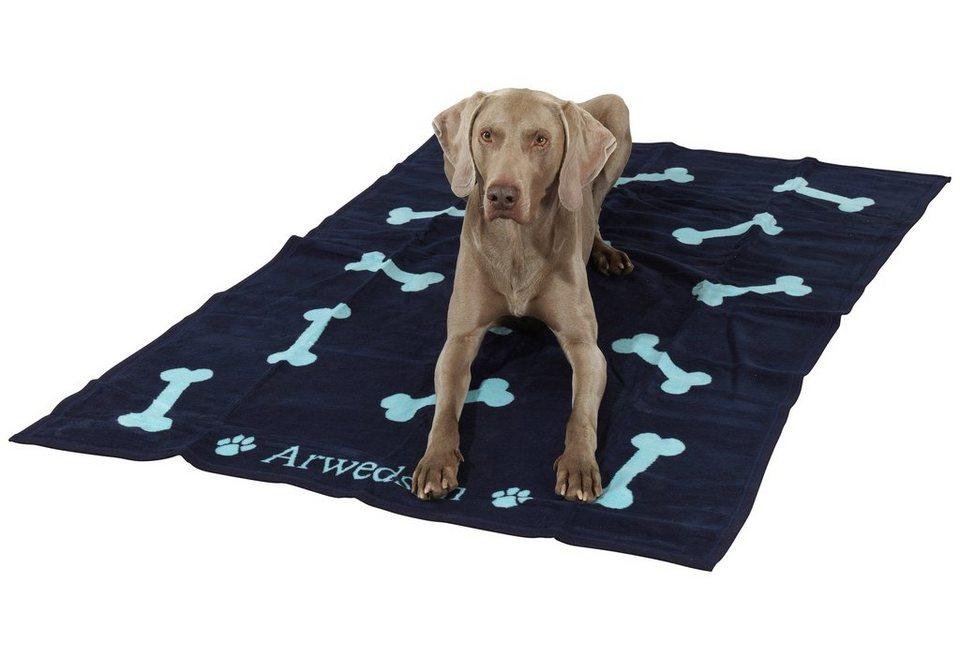 Hunde-Decke »Anti-Haar « in blau