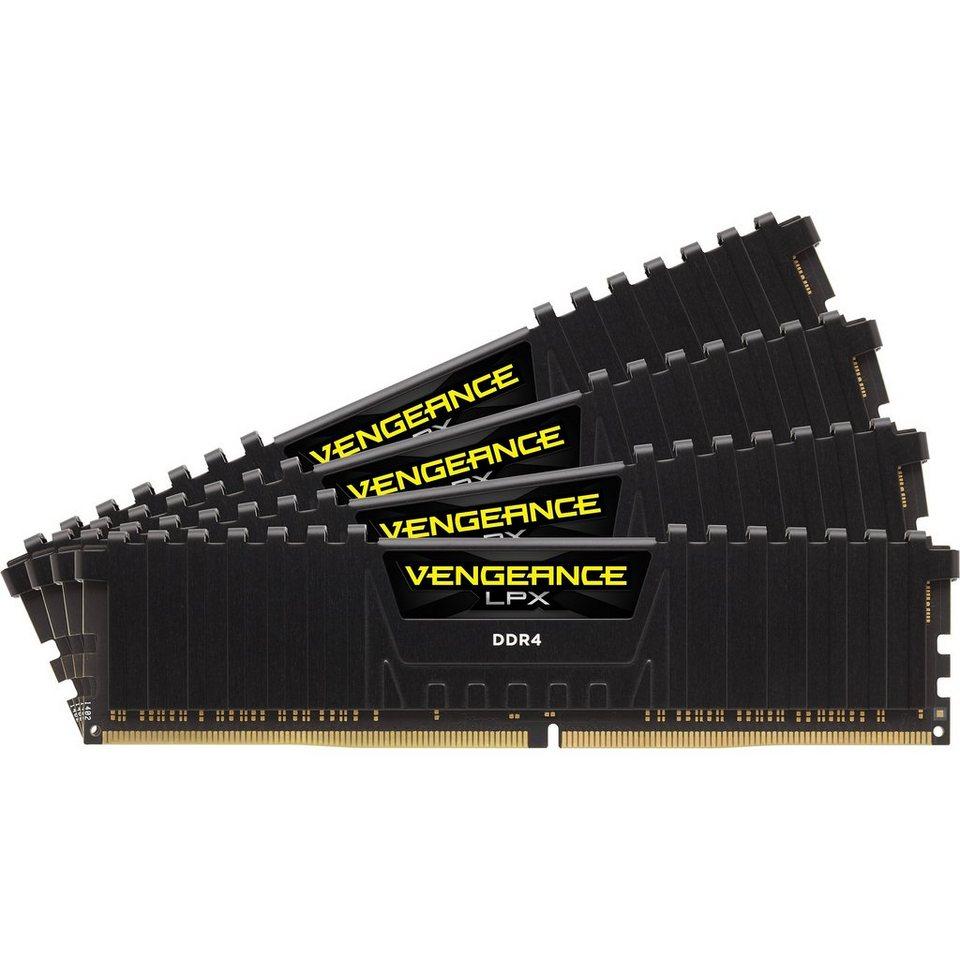 Corsair Arbeitsspeicher »DIMM 32GB DDR4-2133-15 Quad-Kit«