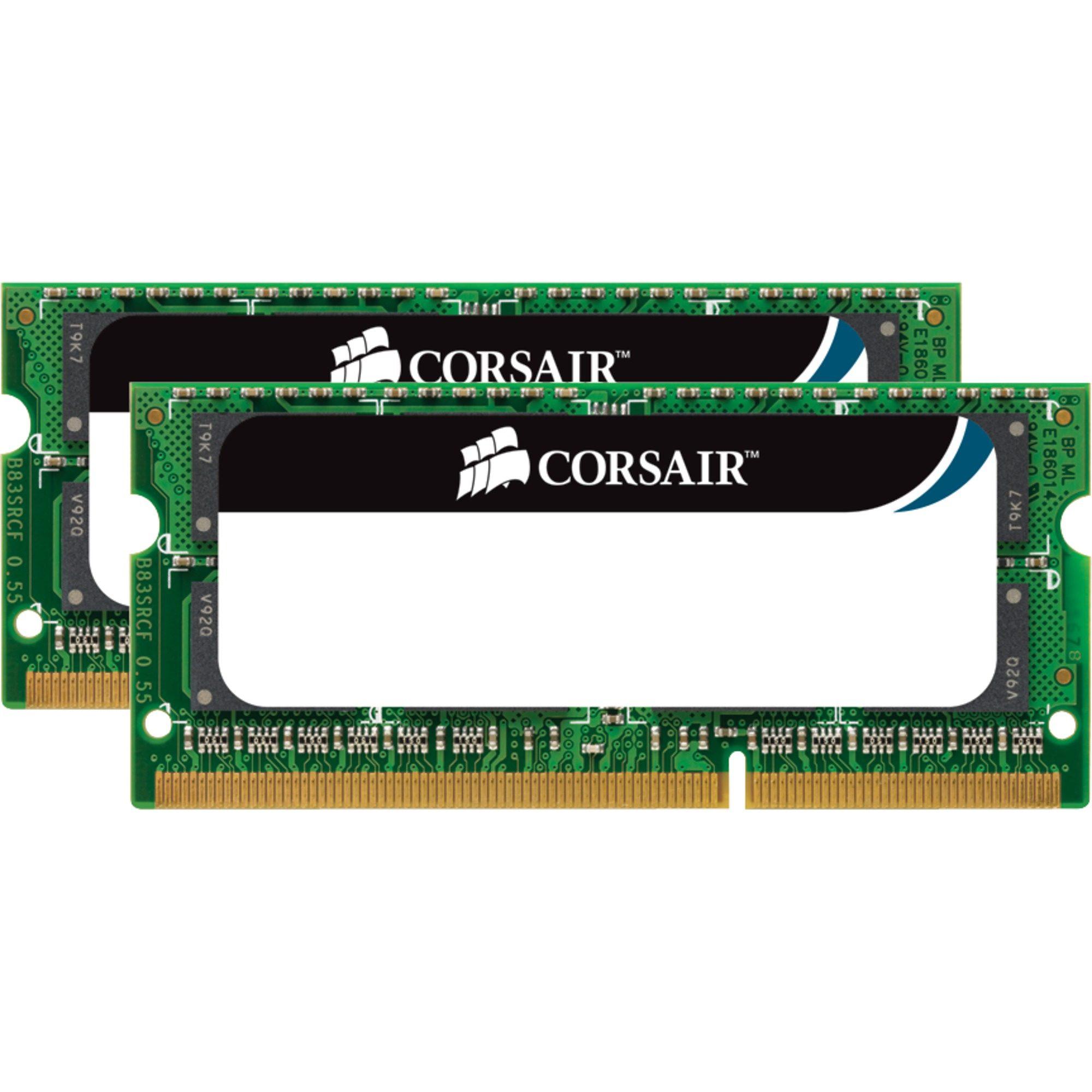 Corsair Arbeitsspeicher »SO-DIMM 8 GB DDR3-1066 Kit«