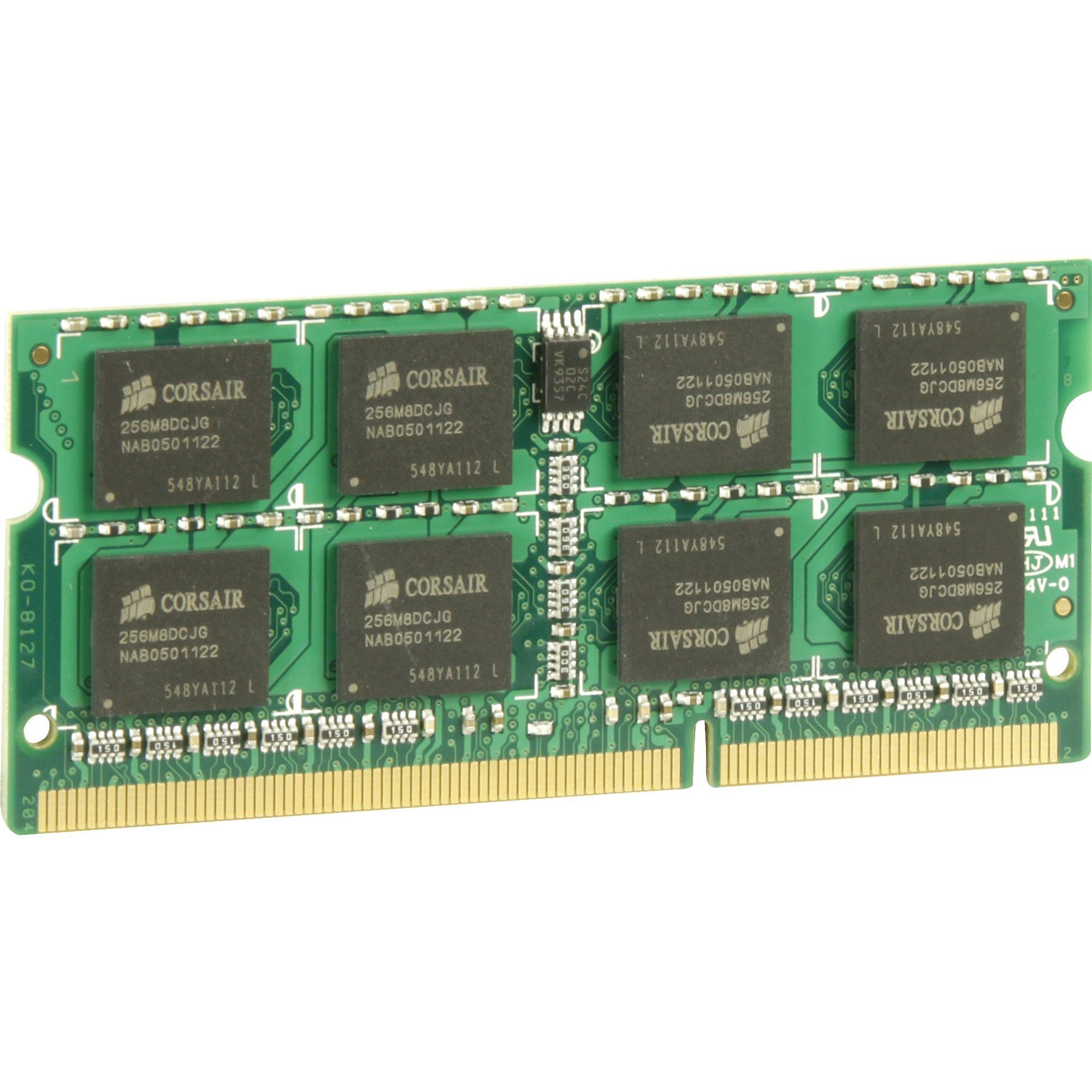 Corsair Arbeitsspeicher »SO-DIMM 4 GB DDR3-1066«