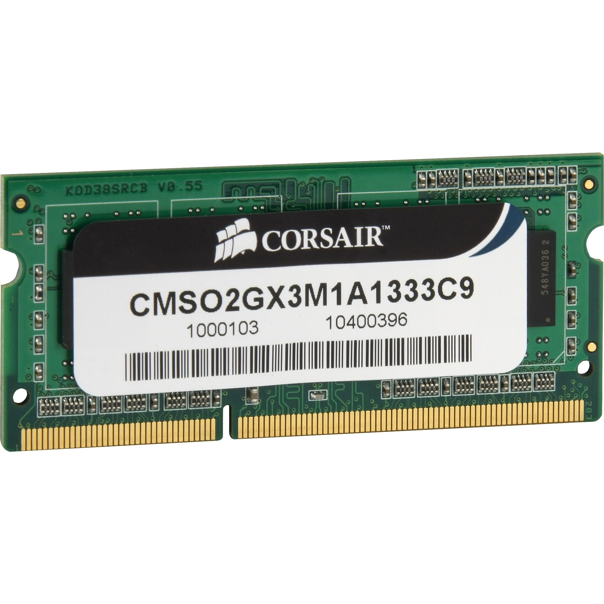 Corsair ValueSelect Arbeitsspeicher »SO-DIMM 2 GB DDR3-1333«