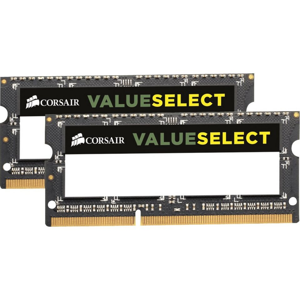 Corsair ValueSelect Arbeitsspeicher »SO-DIMM 16 GB DDR3-1600 Kit«