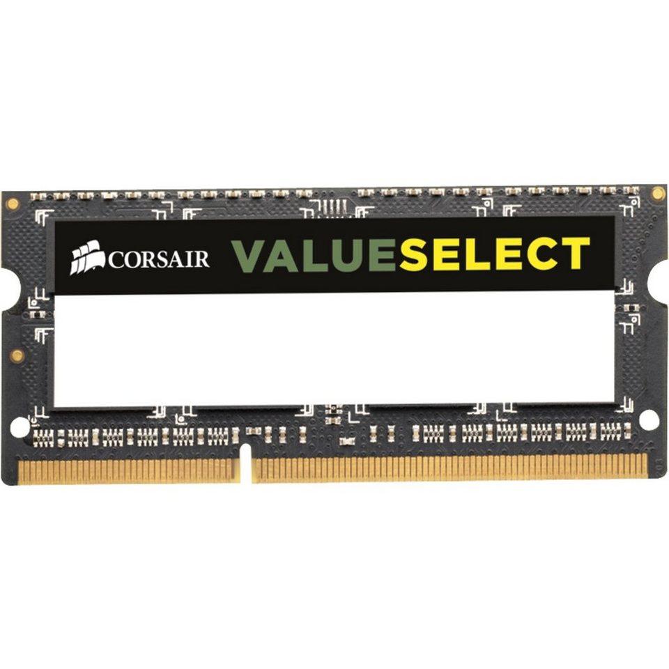Corsair ValueSelect Arbeitsspeicher »SO-DIMM 8 GB DDR3-1600«