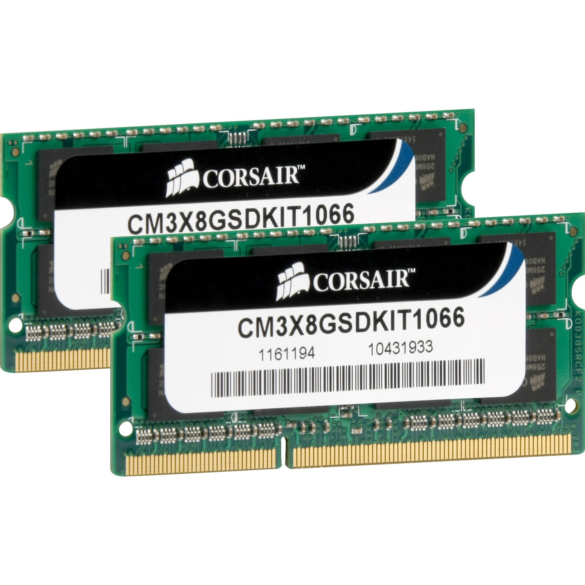 Corsair ValueSelect Arbeitsspeicher »SO-DIMM 8 GB DDR3-1066 Kit«