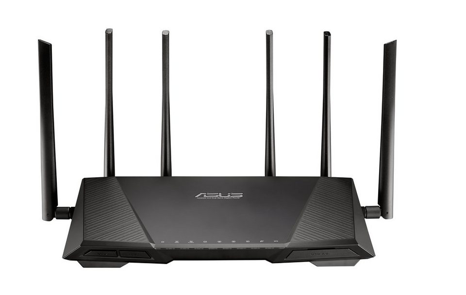 asus wlan router mit airadar technik rt ac3200 otto. Black Bedroom Furniture Sets. Home Design Ideas