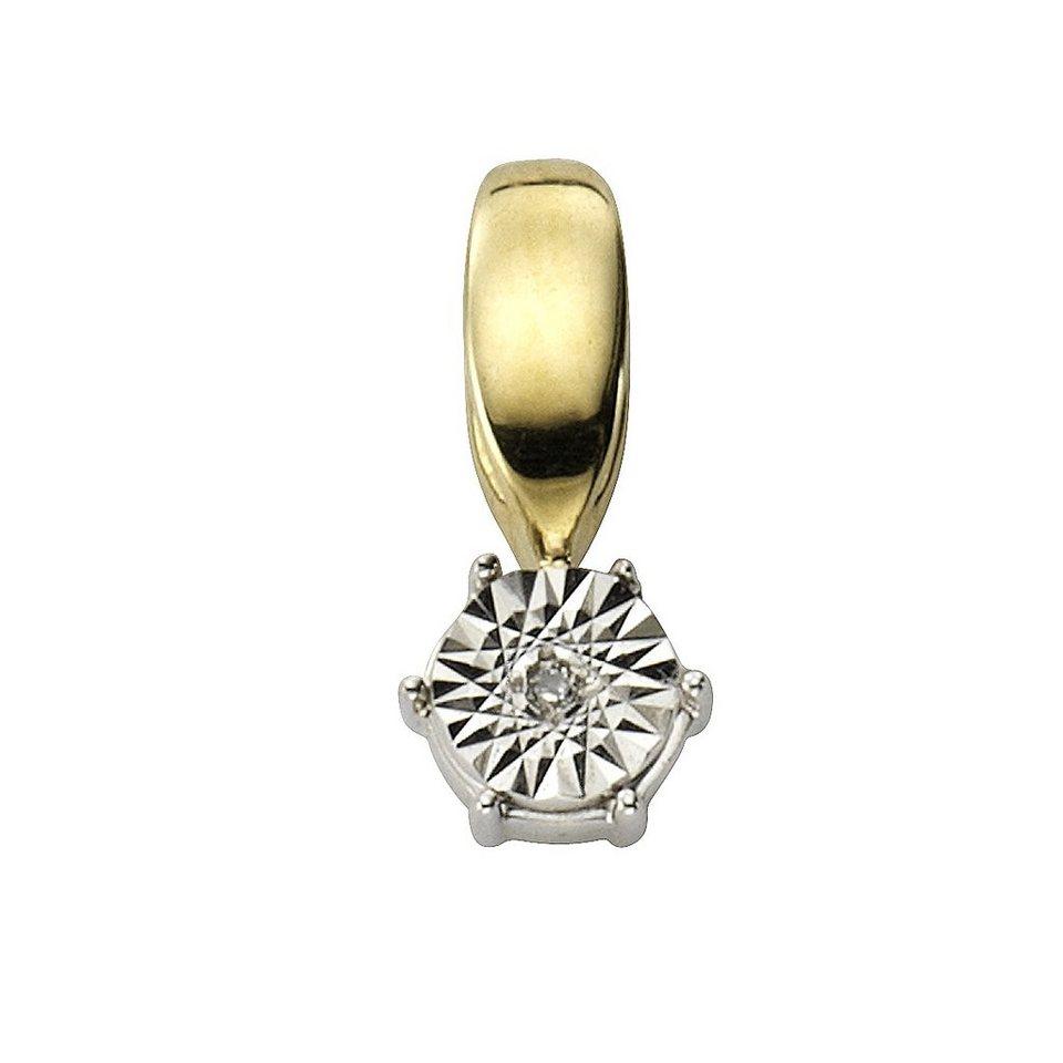 Diamonds by Ellen K. Anhänger in gelb