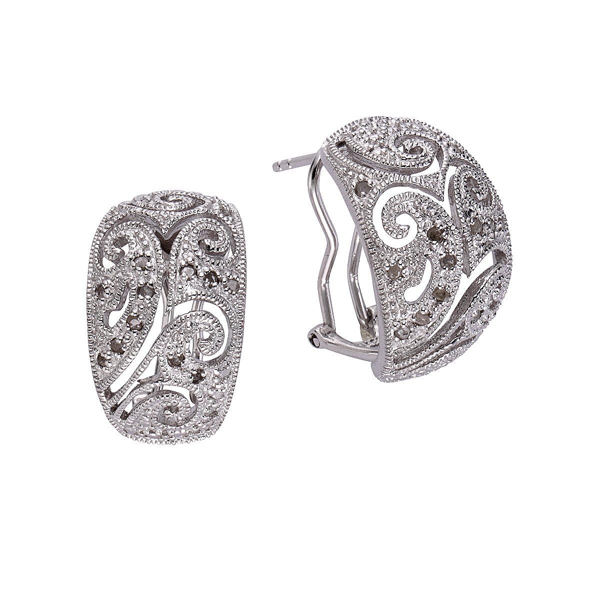 Diamonds by Ellen K. Ohrstecker »925/- Sterling Silber Diamant 0,26ct.«