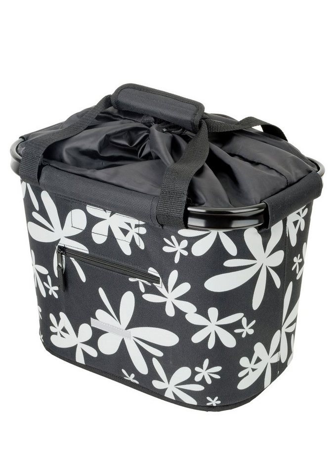 Blue Bird Fahrradtasche für Lenker, »Shopping Bag Blume«