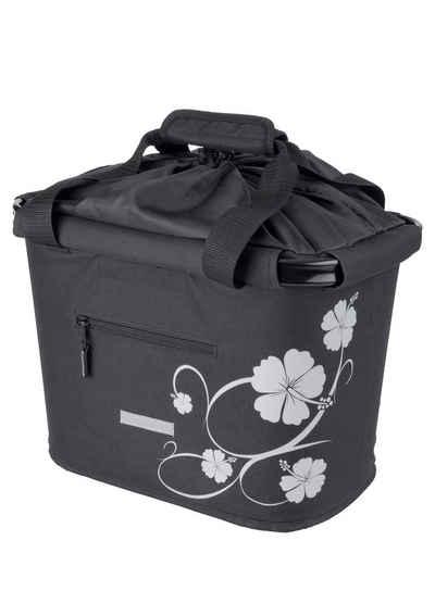 4ddcdc5b9a327 Blue Bird Fahrradtasche »Shopping Bag Hibiskus«