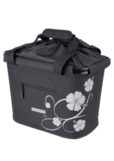 Blue Bird Fahrradtasche »Shopping Bag Hibiskus«