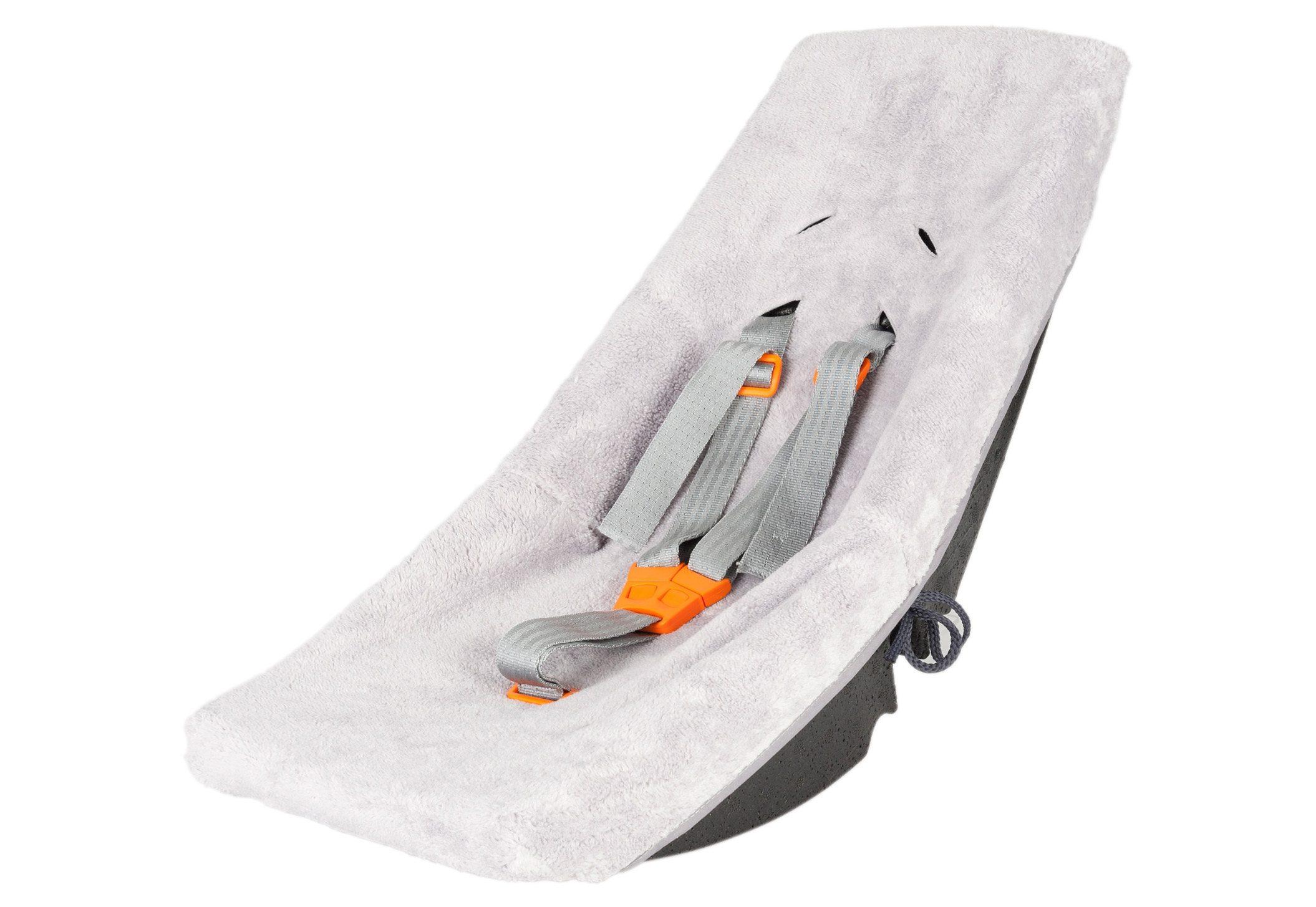 WEBER PRODUCTS & COMPONENTS Kindersitz für Fahrradanhänger, grau, »Babyschale«