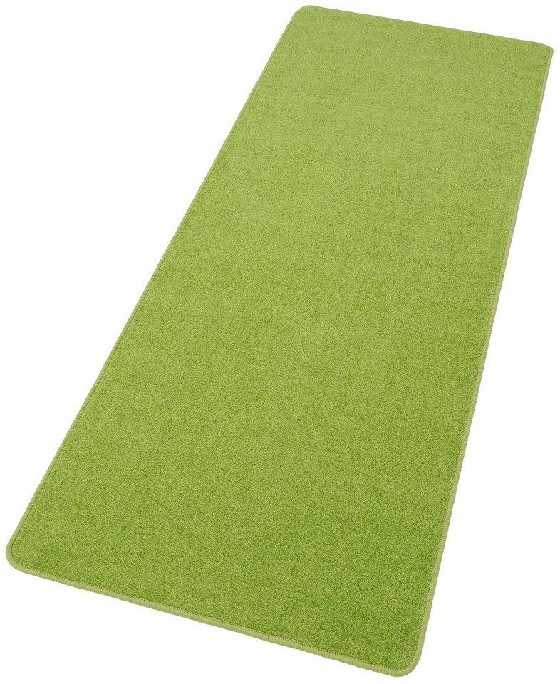 Läufer »Shashi«, Hanse Home, rechteckig, Höhe 8,5 mm in grün