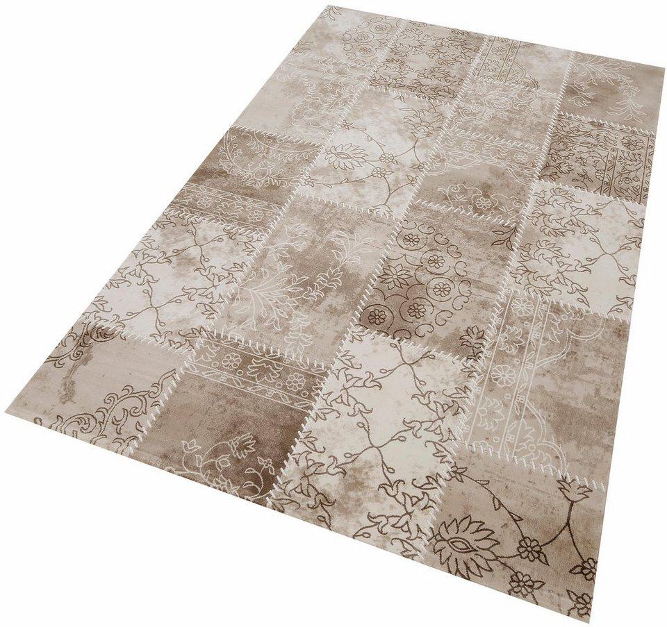 Teppich, angora HALI, »BOHEM 3109«, handgearbeitet in beige