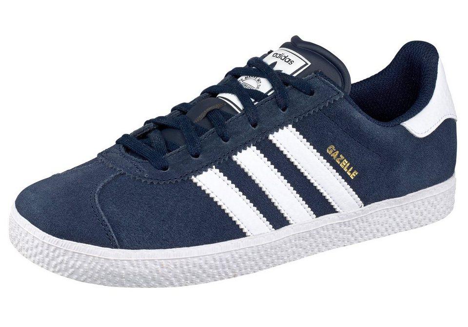 adidas Originals »Gazelle 2 J« Sneaker in marine-weiß