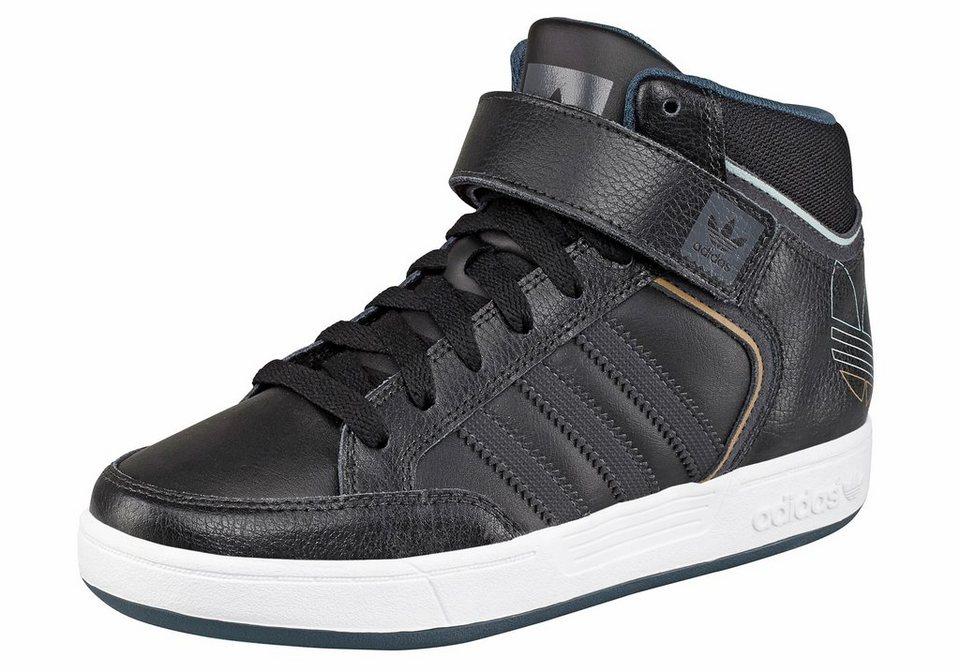 adidas Originals Varial Mid J Sneaker in Schwarz-Grau