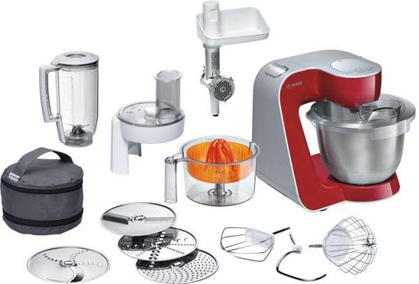 Bosch Küchenmaschine »Styline MUM56740«, 900 Watt, mit viel Zubehör