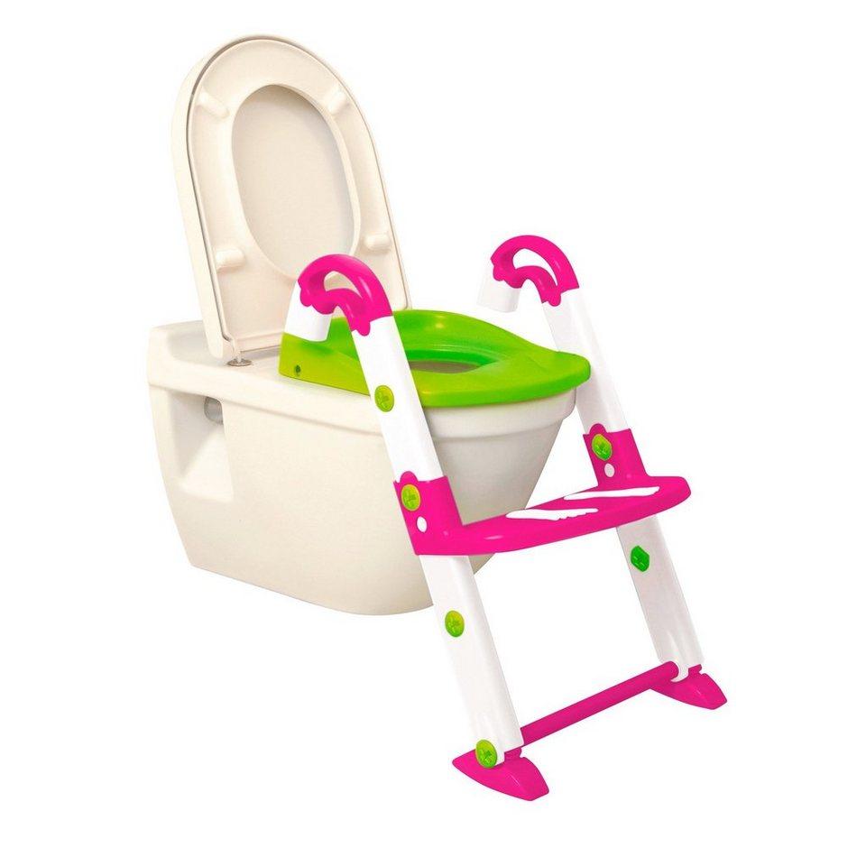 """ROTHO BABYDESIGN Kids Kit Toiletten-Trainer """"3-in-1"""" in pink/weiß/grün"""