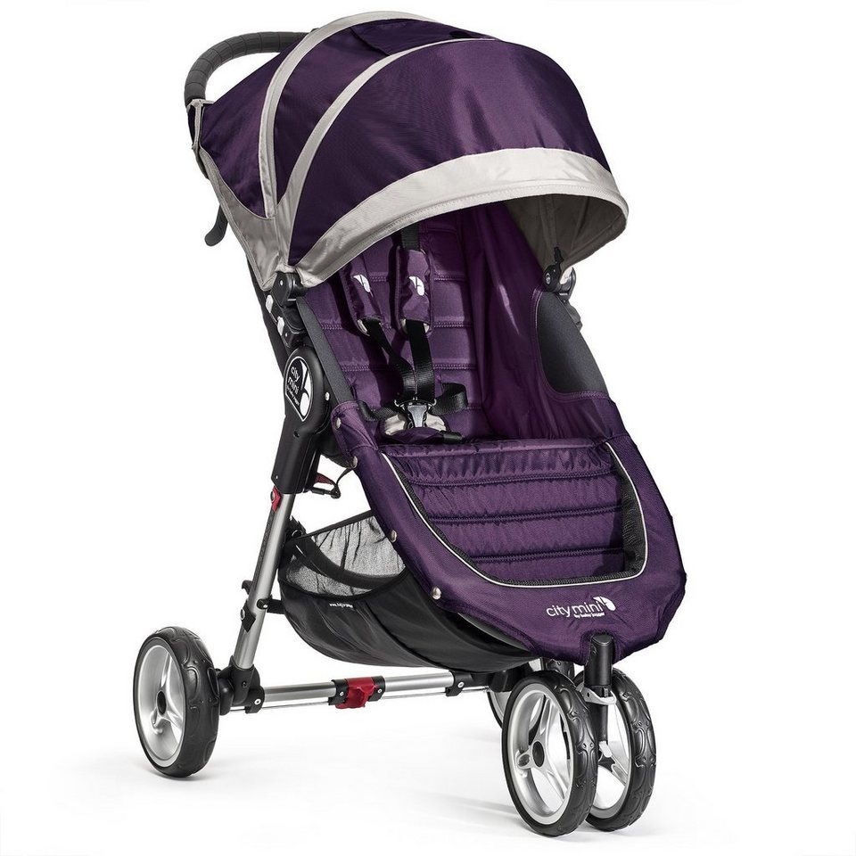 BABYJOGGER City Mini Einer 3 Rad Buggy in Purpel/Gray