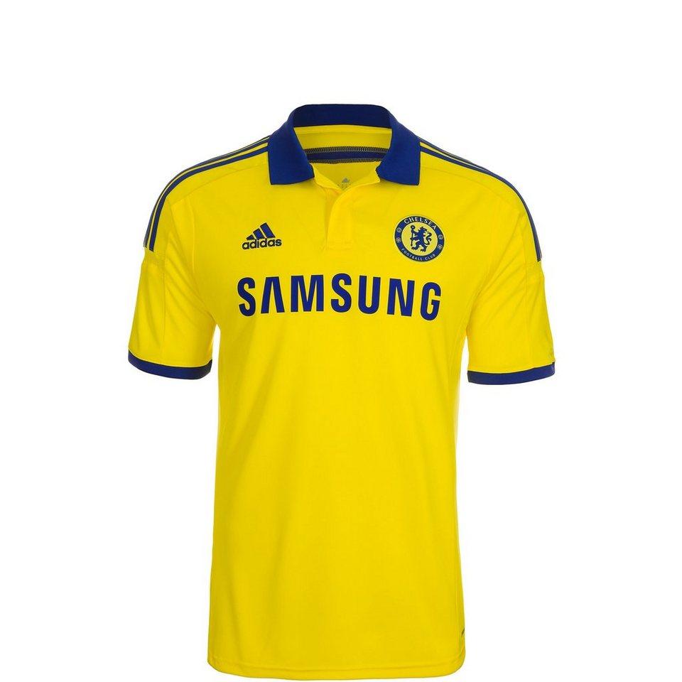 adidas Performance FC Chelsea Trikot Away 2014/2015 Kinder in gelb / blau