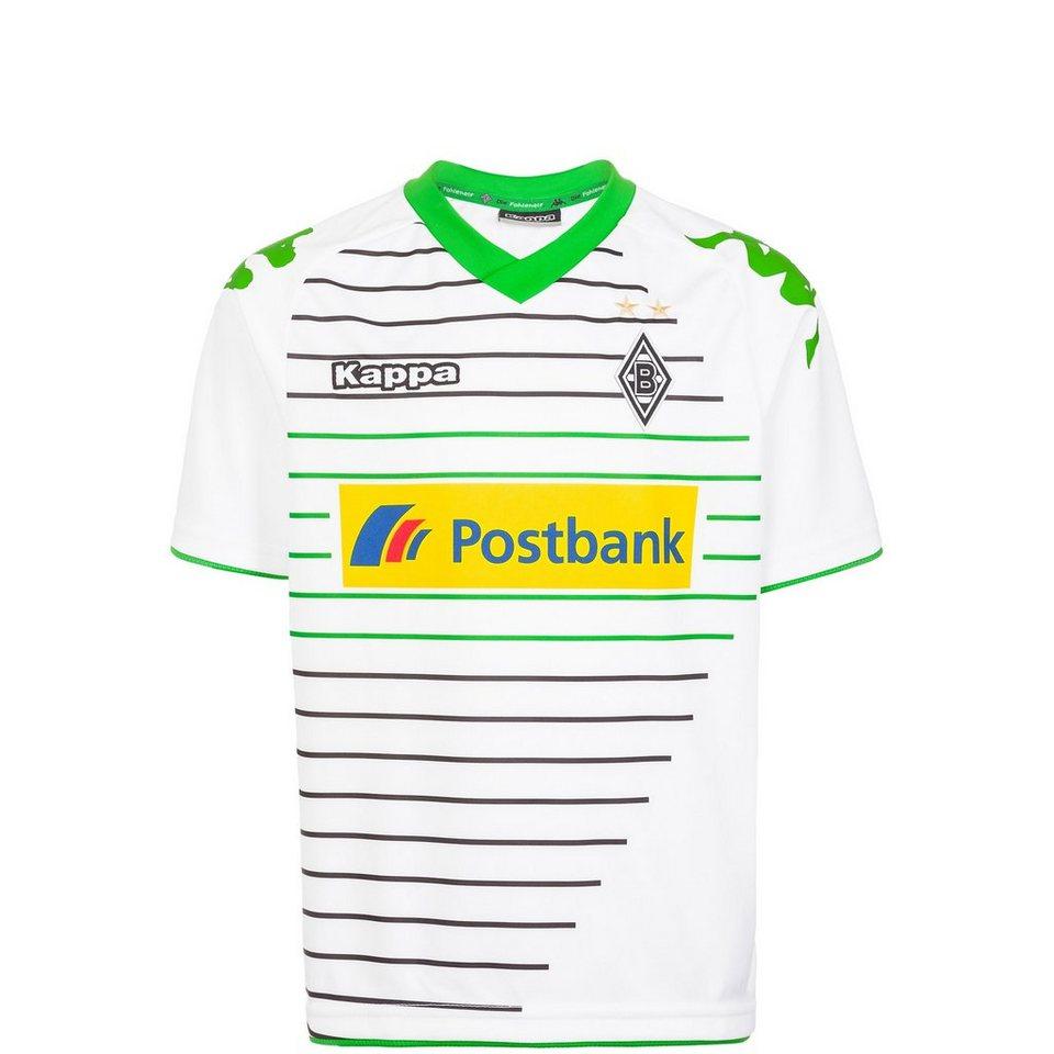 KAPPA Borussia Mönchengladbach Trikot Home 2013/2014 Kinder in weiß / grün