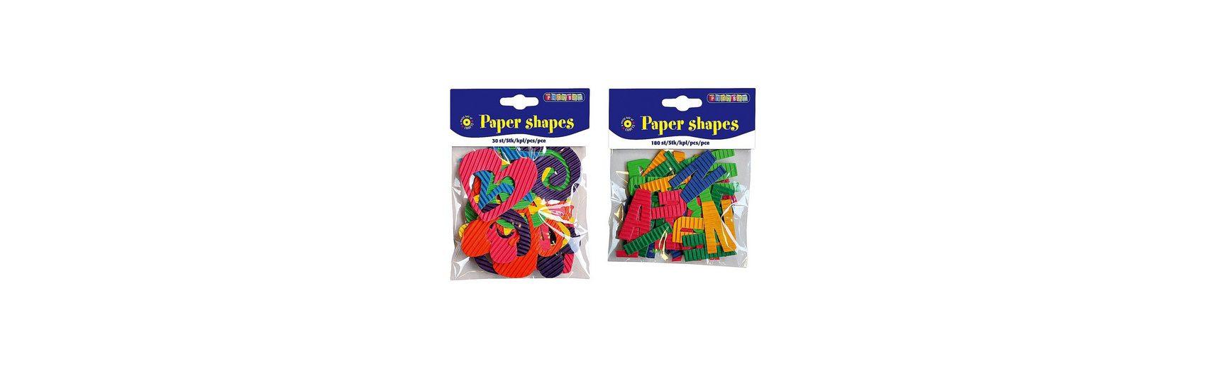 Playbox Pappformen 180 Buchstaben & 30 Formen