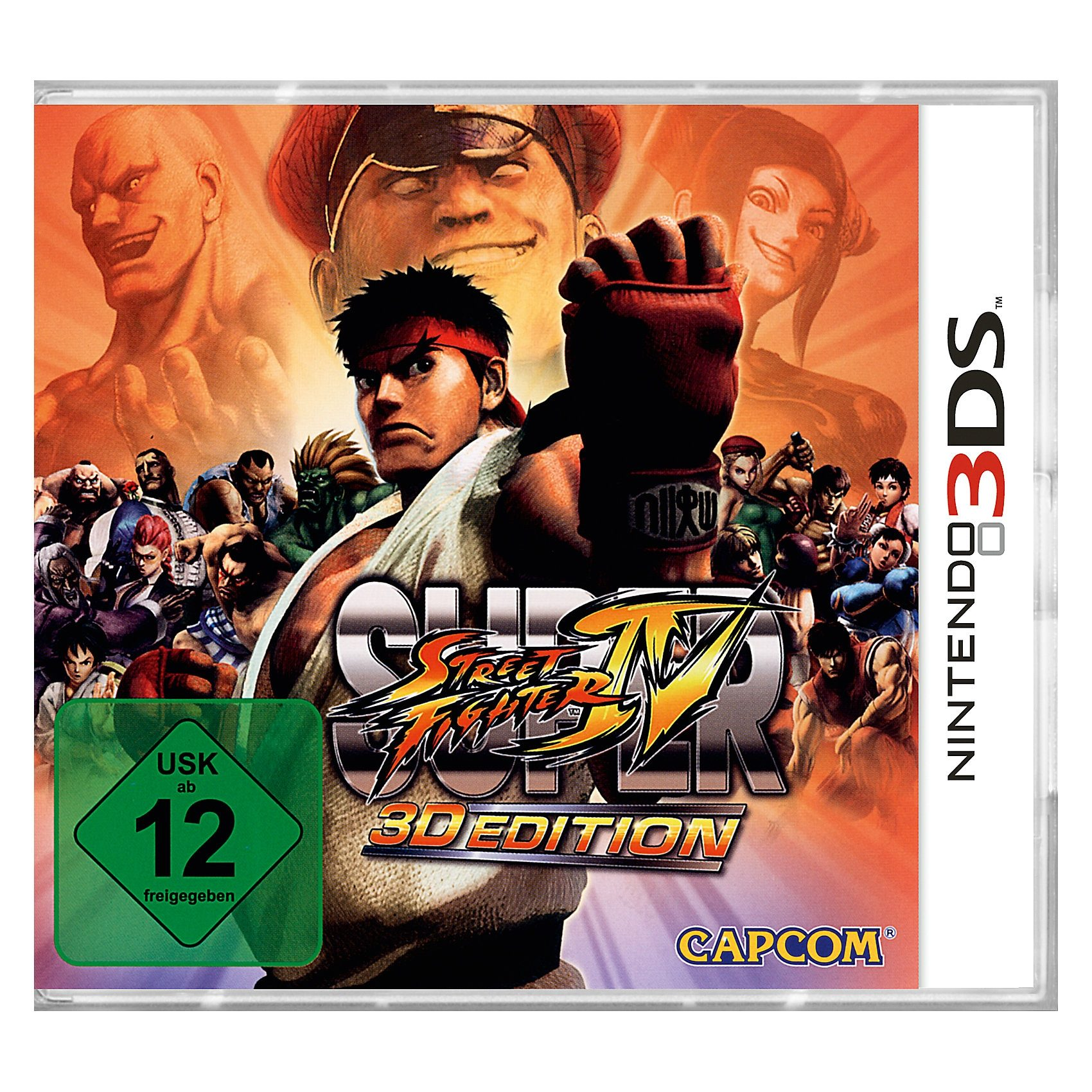 ak tronic 3DS Super Street Fighter IV 3D Edition