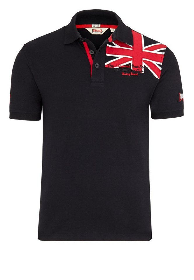Lonsdale Poloshirt in Black