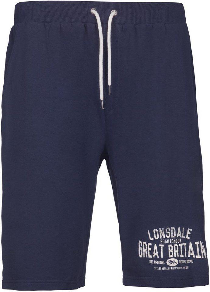 Lonsdale Short in Dark Navy