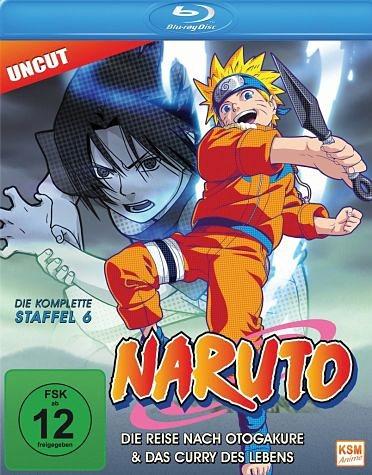 Blu-ray »Naruto - Die komplette Staffel 6«