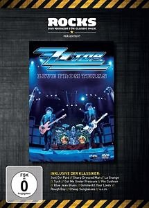 DVD »ZZ Top - Live from Texas«