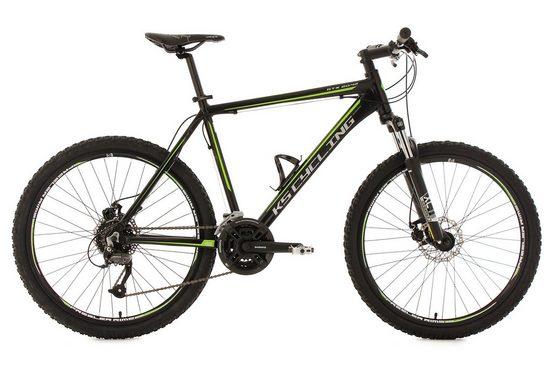 KS Cycling Mountainbike »GTX«, 27 Gang Shimano Altus Schaltwerk, Kettenschaltung