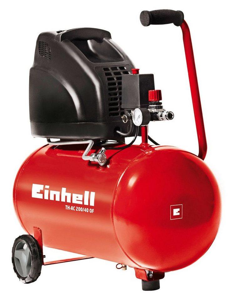 Einhell Kompressor »TH-AC 200/40 OF« in rot