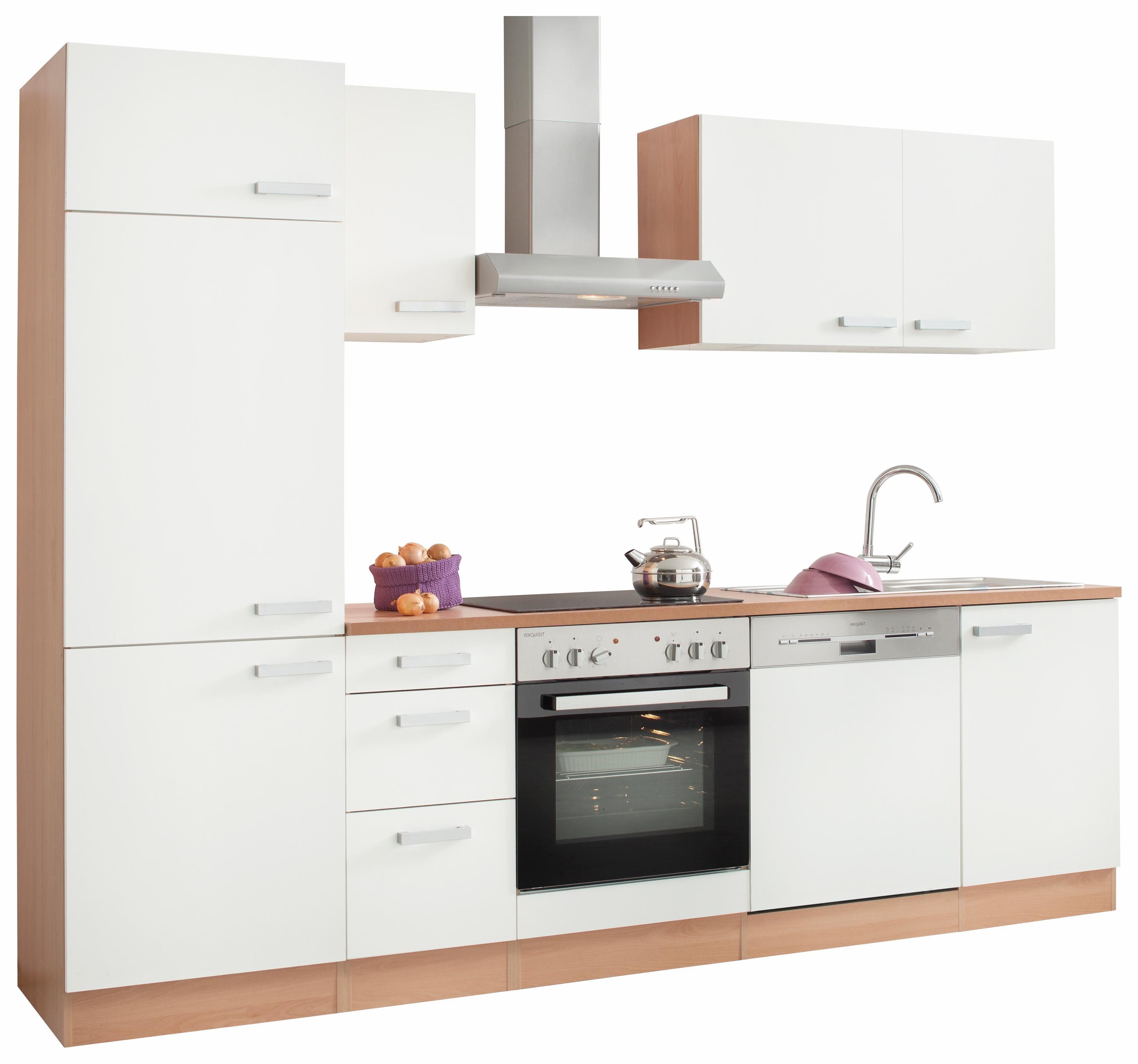 Küchenzeile mit e geräten, optifit, »odense«, breite 270 cm online ...