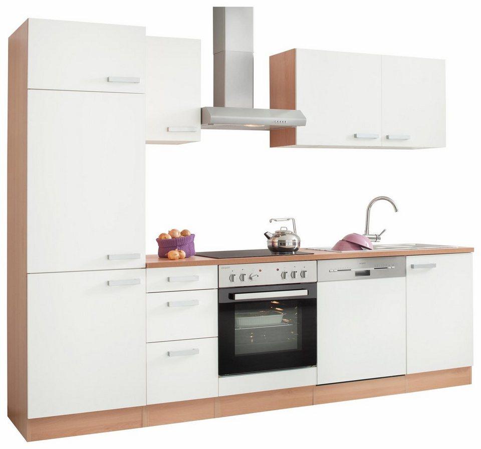 Küchenzeile mit E-Geräten, OPTIFIT, »Odense«, Breite 270 cm, Bestehend aus  16 Teilen online kaufen | OTTO