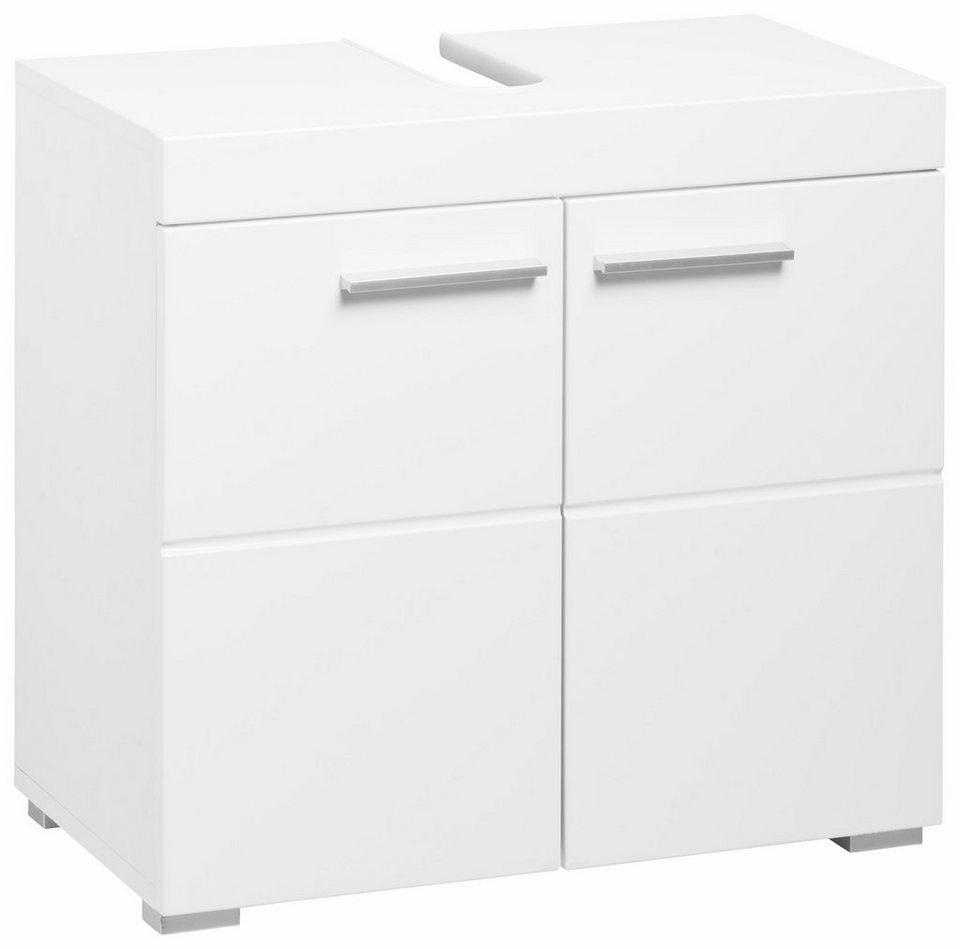Welltime Waschbeckenunterschrank »Amanda« in Weiß - Weiß