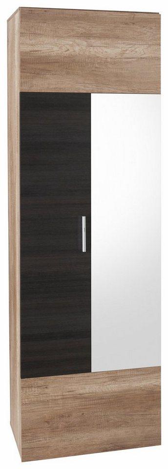garderobenschrank polo mit spiegel kaufen otto. Black Bedroom Furniture Sets. Home Design Ideas