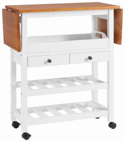 Küchenwagen in weiß online kaufen | OTTO
