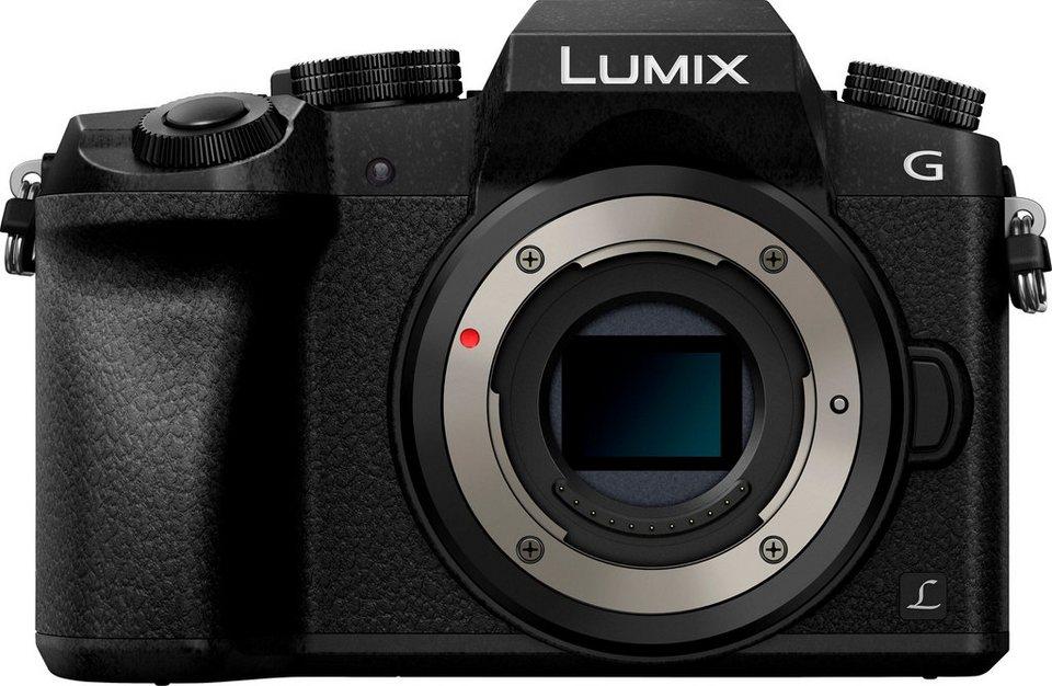Lumix Panasonic DMC-G70EG-K Body System Kamera, 16 Megapixel, 7,6 cm (3 Zoll) Display in schwarz