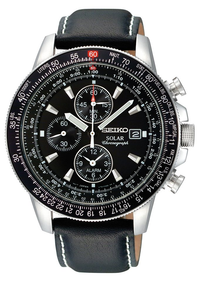 seiko chronograph ssc009p3 online kaufen otto. Black Bedroom Furniture Sets. Home Design Ideas