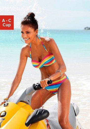 Chiemsee Bandeau-Bikini im angesagten Streifendesign