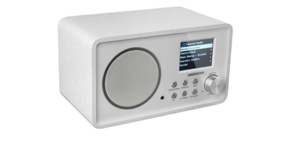 MEDION® Wireless LAN Internet-Radio »LIFE® E85052«