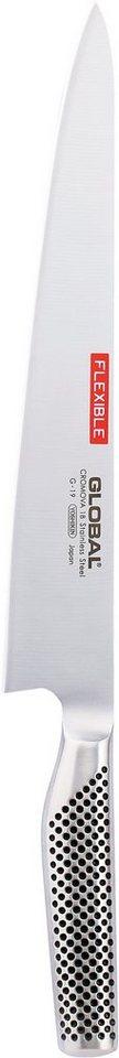 Global G-19 Filetiermesser in Silberfarben