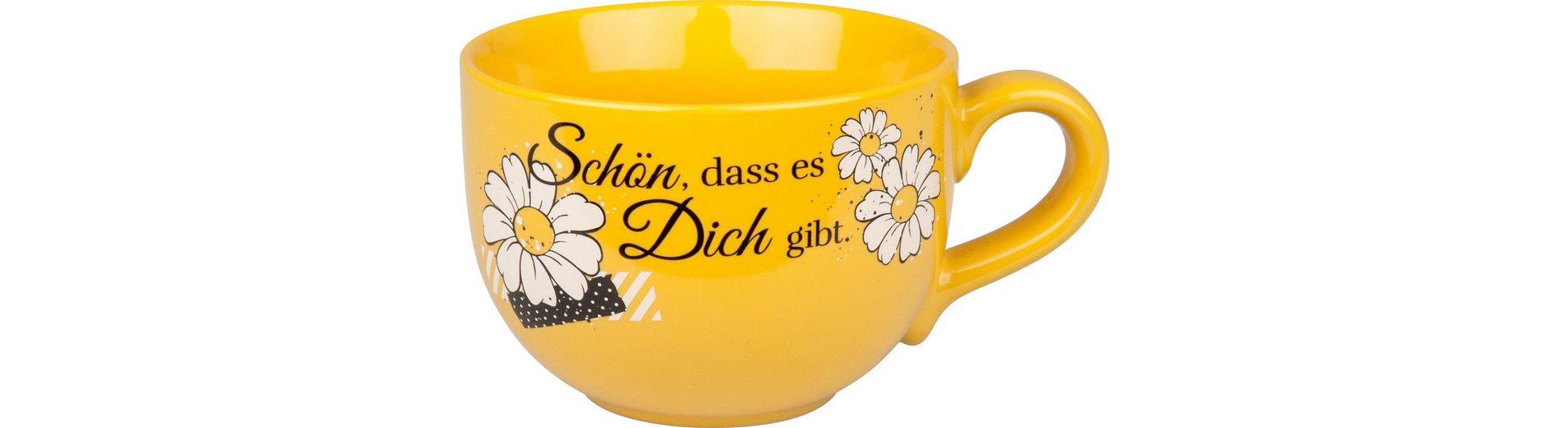 Waechtersbach Jumbotasse »Schön dass...«
