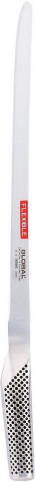 Global G-10 Lachs-Schinkenmesser in Silberfarben