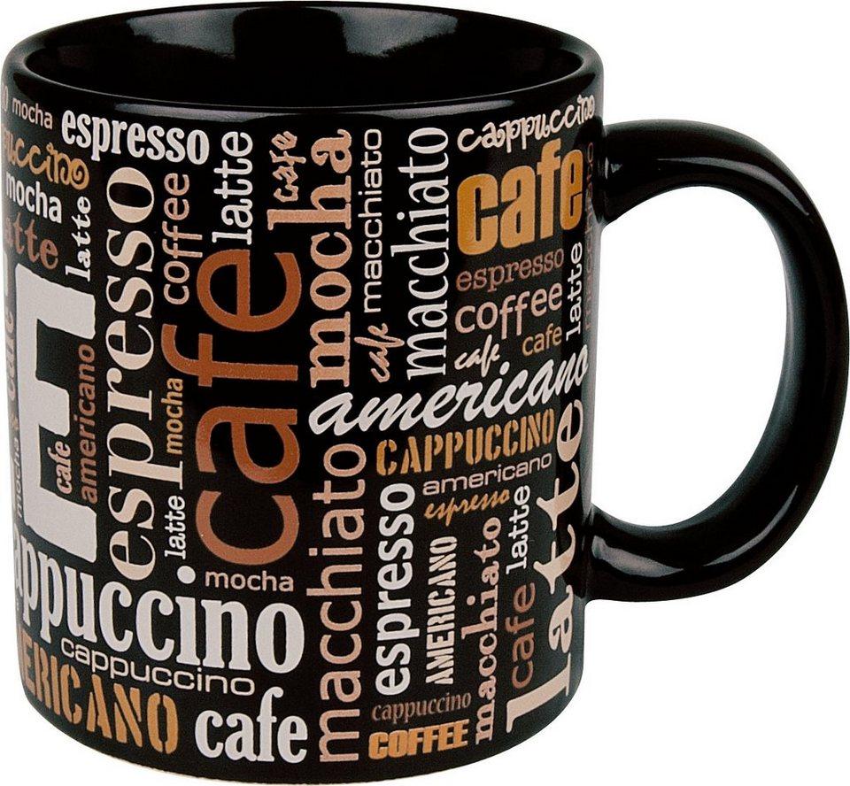 Waechtersbach Henkelbecher »Kaffeeschriften«