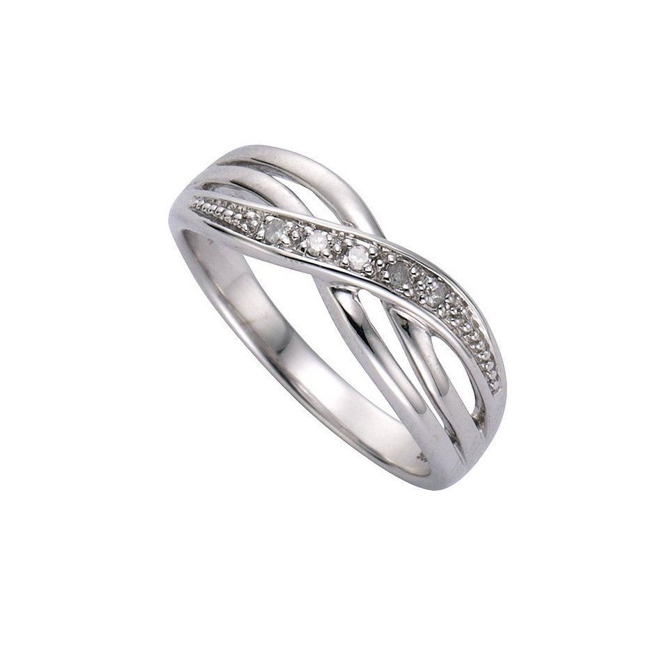 Diamonds by Ellen K. Ring »925/- Sterling Silber Diamant 0,01ct.« in weiß