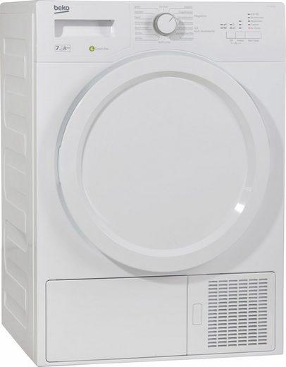 BEKO Wärmepumpentrockner DPS 7205 W3, 7 kg