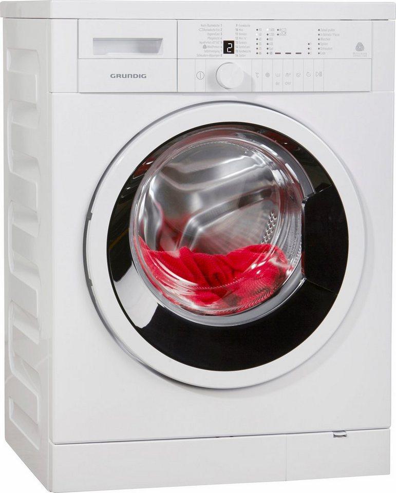 Grundig Waschmaschine GWN 26630, A+++, 6 kg, 1600 U/Min in weiß