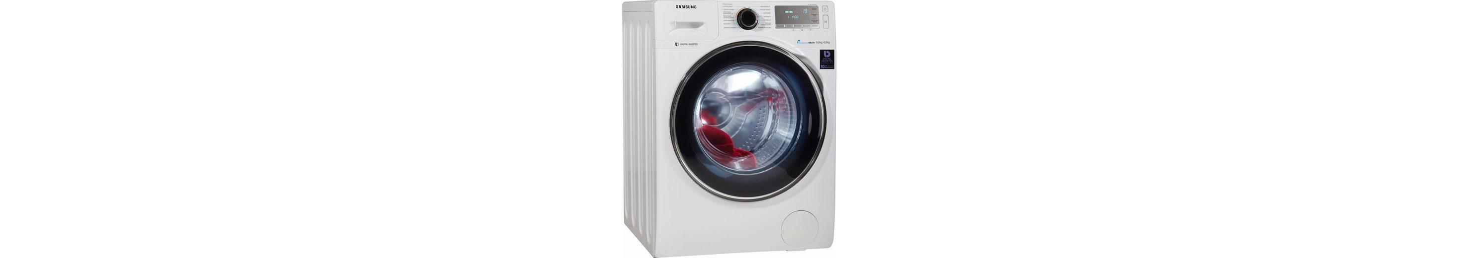 Samsung Waschtrockner WD90J7400GW/EG, A, 9 kg / 6 kg, 1400 U/Min