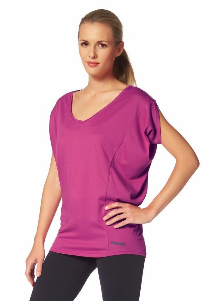 Bench Performance AMPLIZE B Longshirt in Pink